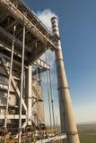 Θερμικός σταθμός παραγωγής ηλεκτρικού ρεύματος στη Σερβία - Kostolac. Στοκ Εικόνες