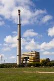 Θερμικός σταθμός παραγωγής ηλεκτρικού ρεύματος Foix Cubelles, Βαρκελώνη, Ισπανία Στοκ Εικόνα