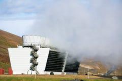Θερμικός σταθμός παραγωγής ηλεκτρικού ρεύματος Geo Στοκ Εικόνες