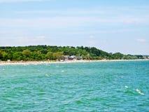 Θερμικό λουτρό Ostsee Therme στο σκέλος Timmendorfer, η θάλασσα της Βαλτικής, Γερμανία στοκ εικόνες