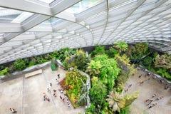 Θερμοκήπιο κήπων σύννεφων στη Σιγκαπούρη Στοκ Φωτογραφίες