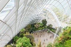 Θερμοκήπιο κήπων σύννεφων στη Σιγκαπούρη Στοκ εικόνα με δικαίωμα ελεύθερης χρήσης