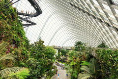 Θερμοκήπιο κήπων σύννεφων στη Σιγκαπούρη Στοκ Εικόνες