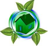 θερμοκήπιο eco απεικόνιση αποθεμάτων