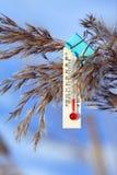 θερμοκρασία πτώσης στοκ φωτογραφία με δικαίωμα ελεύθερης χρήσης