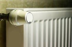 Θερμοστάτης θερμαντικών σωμάτων Στοκ Φωτογραφίες