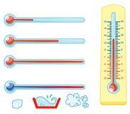 θερμόμετρα Στοκ εικόνα με δικαίωμα ελεύθερης χρήσης