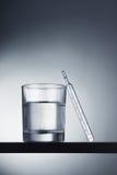θερμόμετρο γυαλιού στοκ εικόνες με δικαίωμα ελεύθερης χρήσης