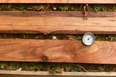 Θερμόμετρο λιπάσματος στοκ φωτογραφία με δικαίωμα ελεύθερης χρήσης