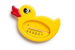 θερμόμετρο λουτρών Στοκ εικόνες με δικαίωμα ελεύθερης χρήσης