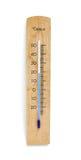 θερμόμετρο ξύλινο Στοκ φωτογραφία με δικαίωμα ελεύθερης χρήσης