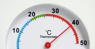 θερμόμετρο στοκ εικόνες