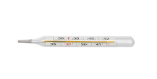 θερμόμετρο στοκ εικόνα