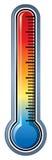 Θερμόμετρο Στοκ Φωτογραφίες