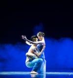 Θερμός εναγκαλισμός-σύγχρονος χορός Στοκ Εικόνα