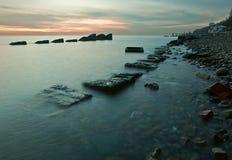 θερμός χειμώνας θάλασσα&sigma Στοκ Εικόνες