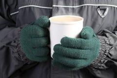 θερμός χειμώνας ποτών Στοκ εικόνες με δικαίωμα ελεύθερης χρήσης