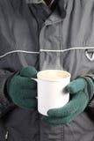 θερμός χειμώνας ποτών Στοκ εικόνα με δικαίωμα ελεύθερης χρήσης