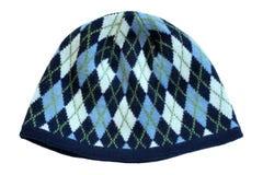 Θερμό μάλλινο πλεκτό καπέλο Στοκ φωτογραφία με δικαίωμα ελεύθερης χρήσης