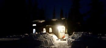 Θερμό μικροσκοπικό σπίτι στοκ εικόνες με δικαίωμα ελεύθερης χρήσης