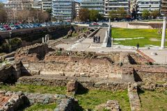 10 03 2018 Θεσσαλονίκη, Ελλάδα - οθωμανικός μπέης Hamam λουτρών lo Στοκ εικόνες με δικαίωμα ελεύθερης χρήσης