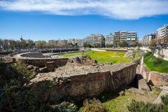 10 03 2018 Θεσσαλονίκη, Ελλάδα - οθωμανικός μπέης Hamam λουτρών lo Στοκ φωτογραφία με δικαίωμα ελεύθερης χρήσης