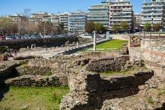 10 03 2018 Θεσσαλονίκη, Ελλάδα - οθωμανικός μπέης Hamam λουτρών lo Στοκ Εικόνα