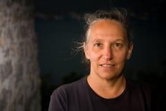 Θετική καυκάσια γυναίκα Στοκ εικόνα με δικαίωμα ελεύθερης χρήσης