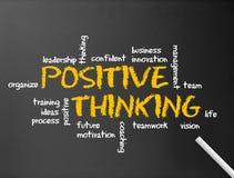 θετική σκέψη διανυσματική απεικόνιση