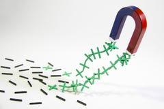 Θετικός μαγνήτης Στοκ εικόνες με δικαίωμα ελεύθερης χρήσης