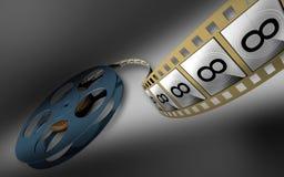 θετικό κινηματογραφικών &tau ελεύθερη απεικόνιση δικαιώματος