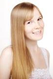 θετικό χαμόγελο κοριτσ&iot Στοκ εικόνα με δικαίωμα ελεύθερης χρήσης