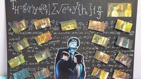 Θεωρία Everthing στοκ φωτογραφίες
