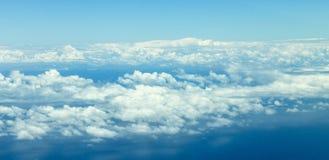Θεϊκά σύννεφα Στοκ Εικόνες