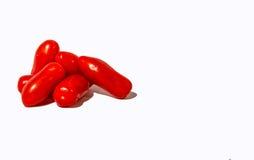 Θεϊκές ντομάτες Villagio Marzano Στοκ Εικόνες