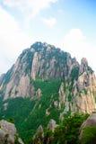 Θεϊκή κύρια αιχμή (κινεζικές αιχμές βουνών) Στοκ Φωτογραφία