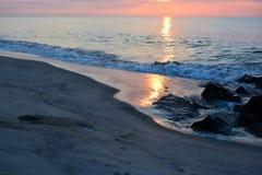 Θεϊκοί ουρανοί επάνω από τον ωκεανό Στοκ Εικόνες