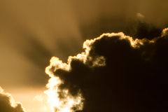 Θεϊκό σύννεφο Στοκ εικόνες με δικαίωμα ελεύθερης χρήσης