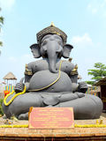 Θεός ελεφάντων που διε&upsil στοκ εικόνα