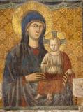 Θεός νωπογραφίας ιερός η περισσότερη μητέρα Ρώμη Στοκ φωτογραφία με δικαίωμα ελεύθερης χρήσης