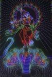 Θεός Krishna στοκ εικόνες