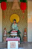 Θεότητα στον ταοϊστικό ναό Ipoh Μαλαισία σπηλιών Sen Tong μολβών Στοκ εικόνες με δικαίωμα ελεύθερης χρήσης