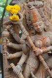 Θεότητα Maa Durga Στοκ Εικόνες