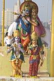 Θεότητες Radha και Krishna στοκ εικόνα