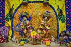 Θεότητες Sri nitay-Gauracandra Sri στοκ εικόνα με δικαίωμα ελεύθερης χρήσης