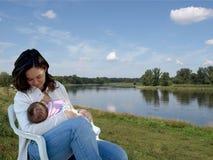 θηλασμός Στοκ φωτογραφία με δικαίωμα ελεύθερης χρήσης