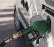 Θηλιά βενζίνης απομονωμένος στοκ εικόνες