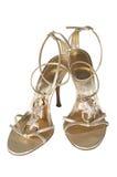 θηλυκά ανοικτά παπούτσια Στοκ φωτογραφίες με δικαίωμα ελεύθερης χρήσης