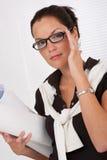 θηλυκά γυαλιά αρχιτεκτό&nu στοκ εικόνες