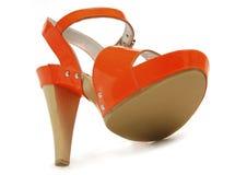 θηλυκά κόκκινα παπούτσια & Στοκ φωτογραφίες με δικαίωμα ελεύθερης χρήσης